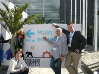 During the EAIE 2010 Conference in Nantes