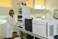 One of the laboratories at the Department of Biopharmacy and Pharmacodynamics