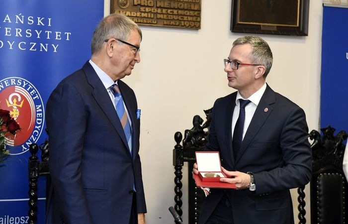Jerzy Starak awarded – business cooperate with science