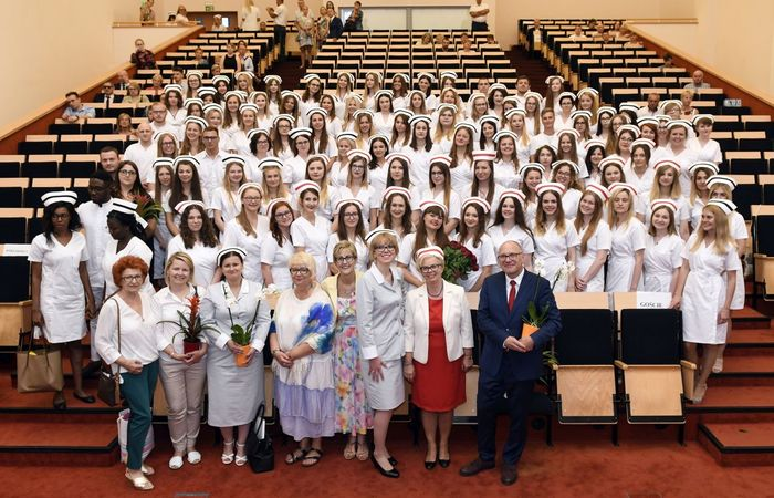 Capping ceremony of nursing and obstetrics graduates