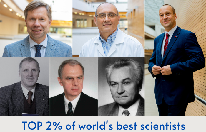Scientists of the MUG in the world top