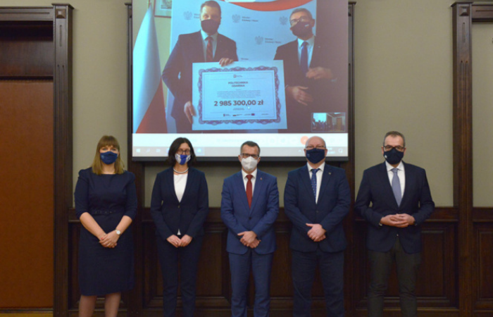 Daniel Fahrenheit Union of Universities in Gdańsk. Virtual meeting of the Rectors with the Minister.
