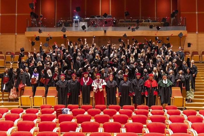 English Division medical students' graduation ceremony; photo: Paweł Sudara/MUG