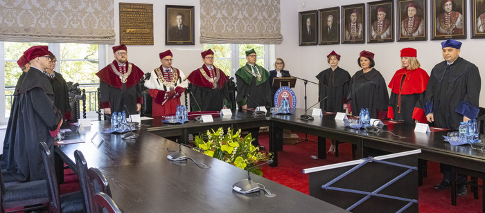 Matriculation at the Faculty of Medicine
