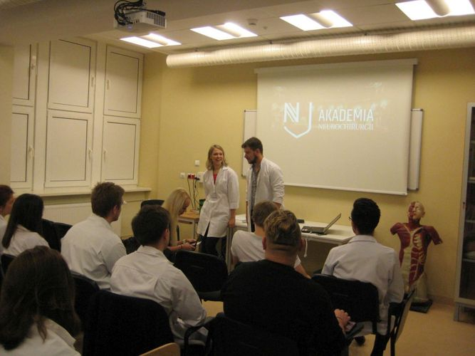 Medical University Of Gdansk Another Workshop On The Series Of The